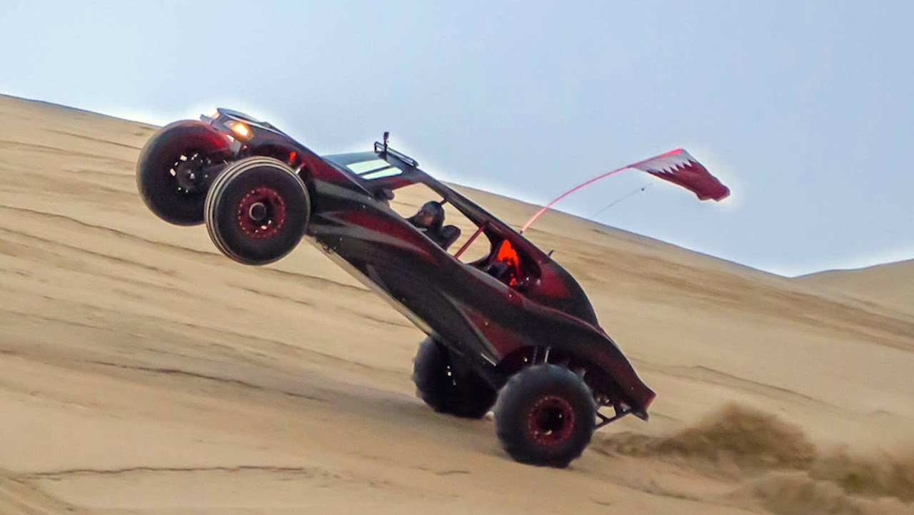 This Four Wheel Drive Is One Of The Best Sand Cars In Qatar