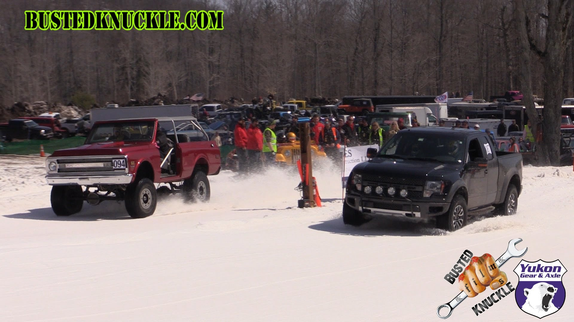 Watch As This Classic Chevy Blazer Schools This Ford Raptor