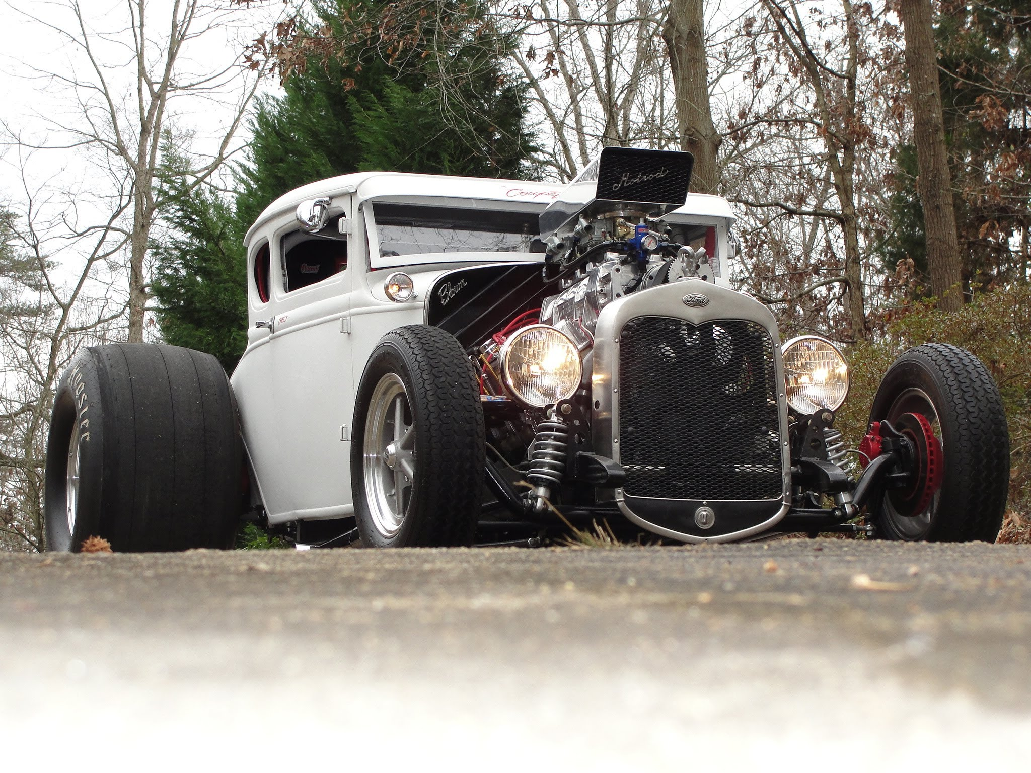 7000 Rpm Full Throttle Burnout Of The Legendary Coupezella Hot Rat Rod