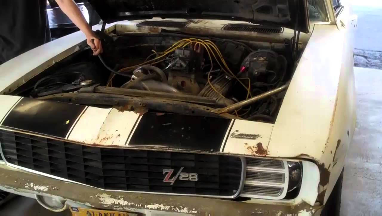 Check Out This Amazing 1969 Camaro Barn Find Restoration