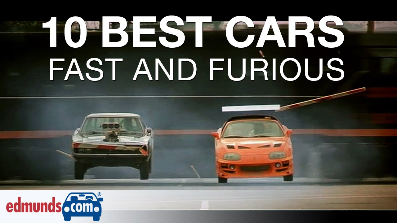Check Out The Top Ten Best Cars In Fast And Furious!