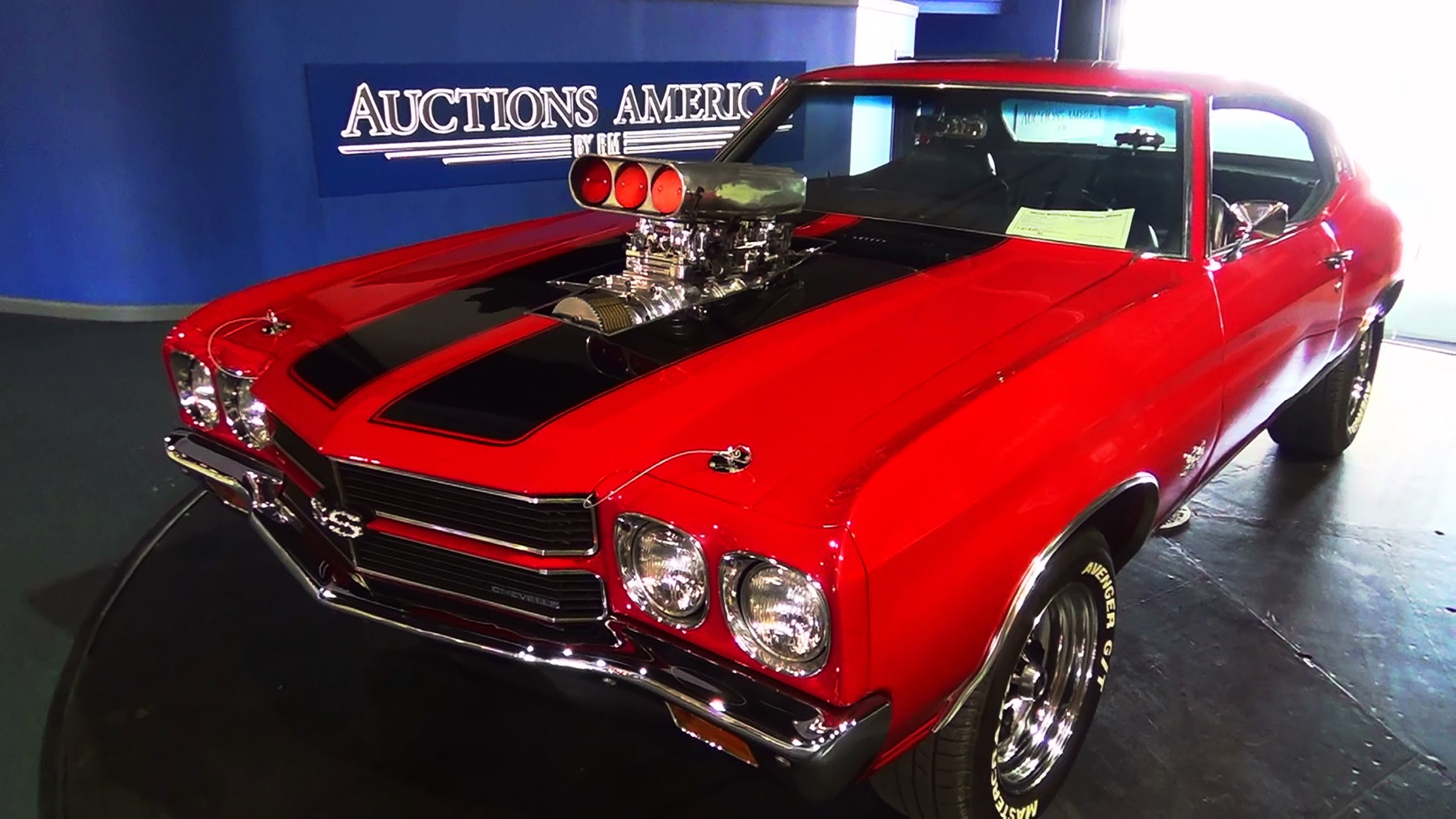 ScottieDTv\'s Amazing Restored Red 1970 Chevy Chevelle SS!