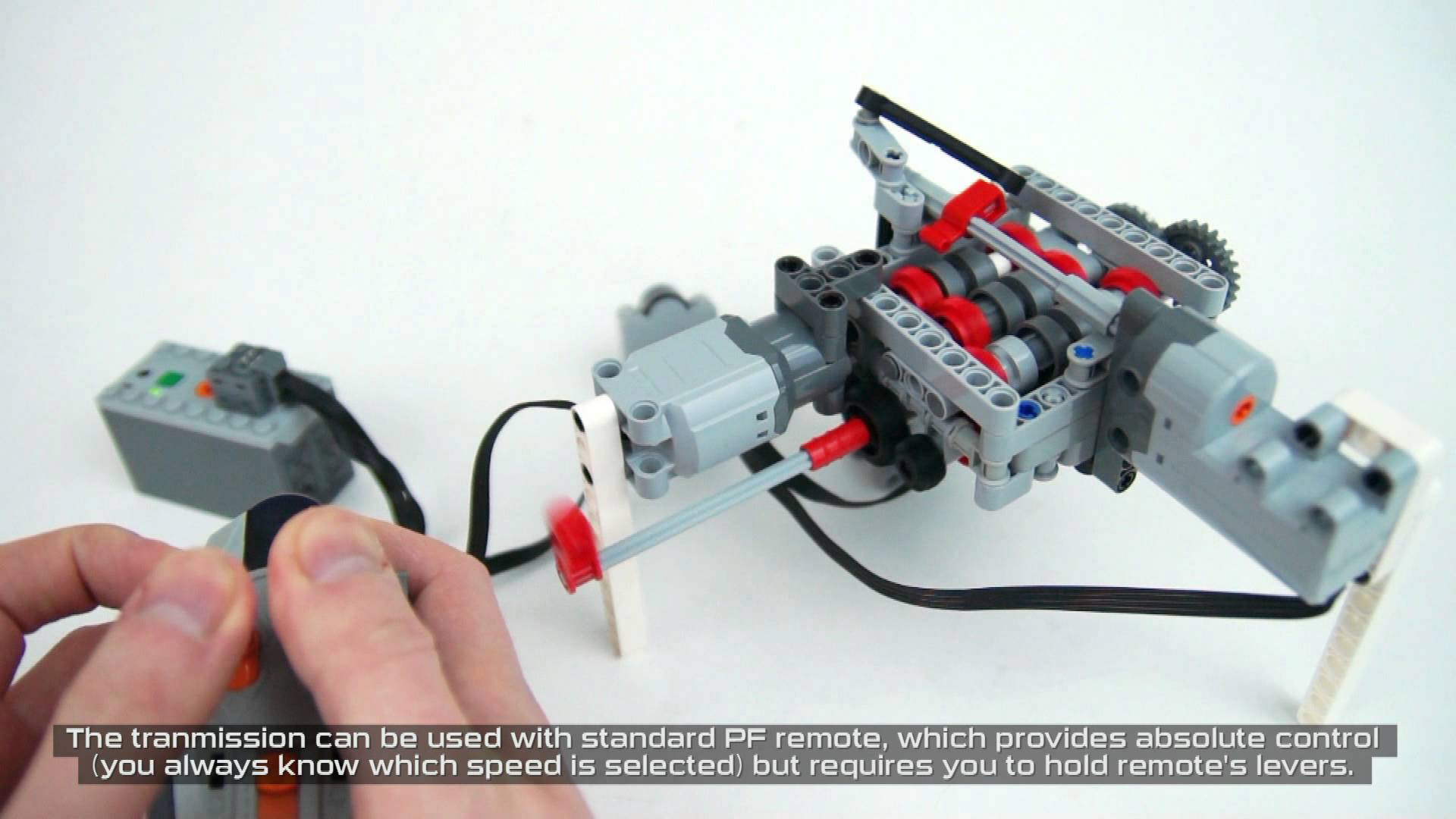 A 6 speed Transmission Built With Legos