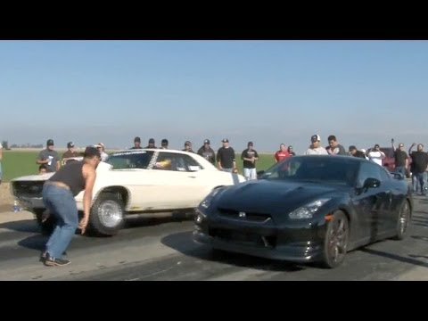 California Street Racing Pits GT-R Against, Spray Camaro With 375HP ...