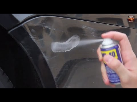 Removing Scrapes From Car Paint