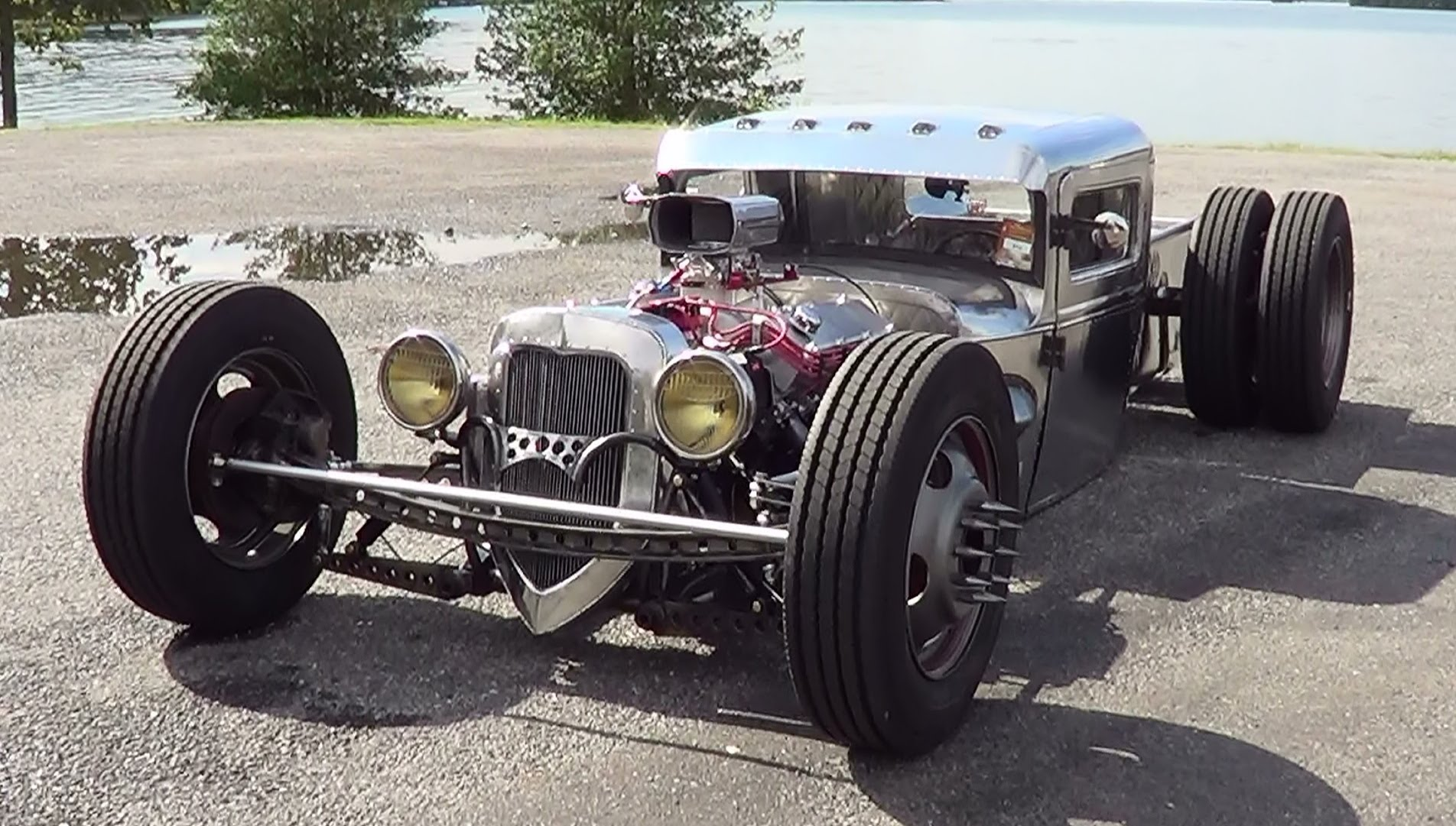 Check Out This Amazing Hand Built Hot Rod Executed By