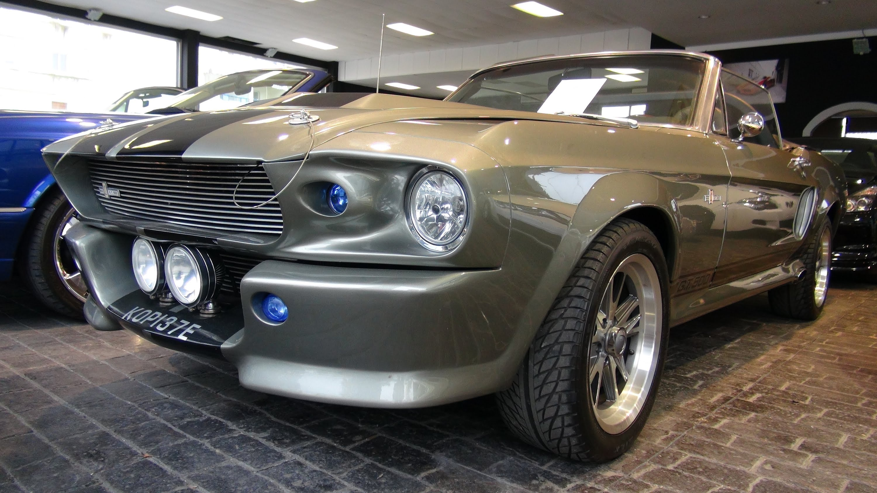 This 1967 ford shelby gt500 eleanor convertible is absolutely remarkable