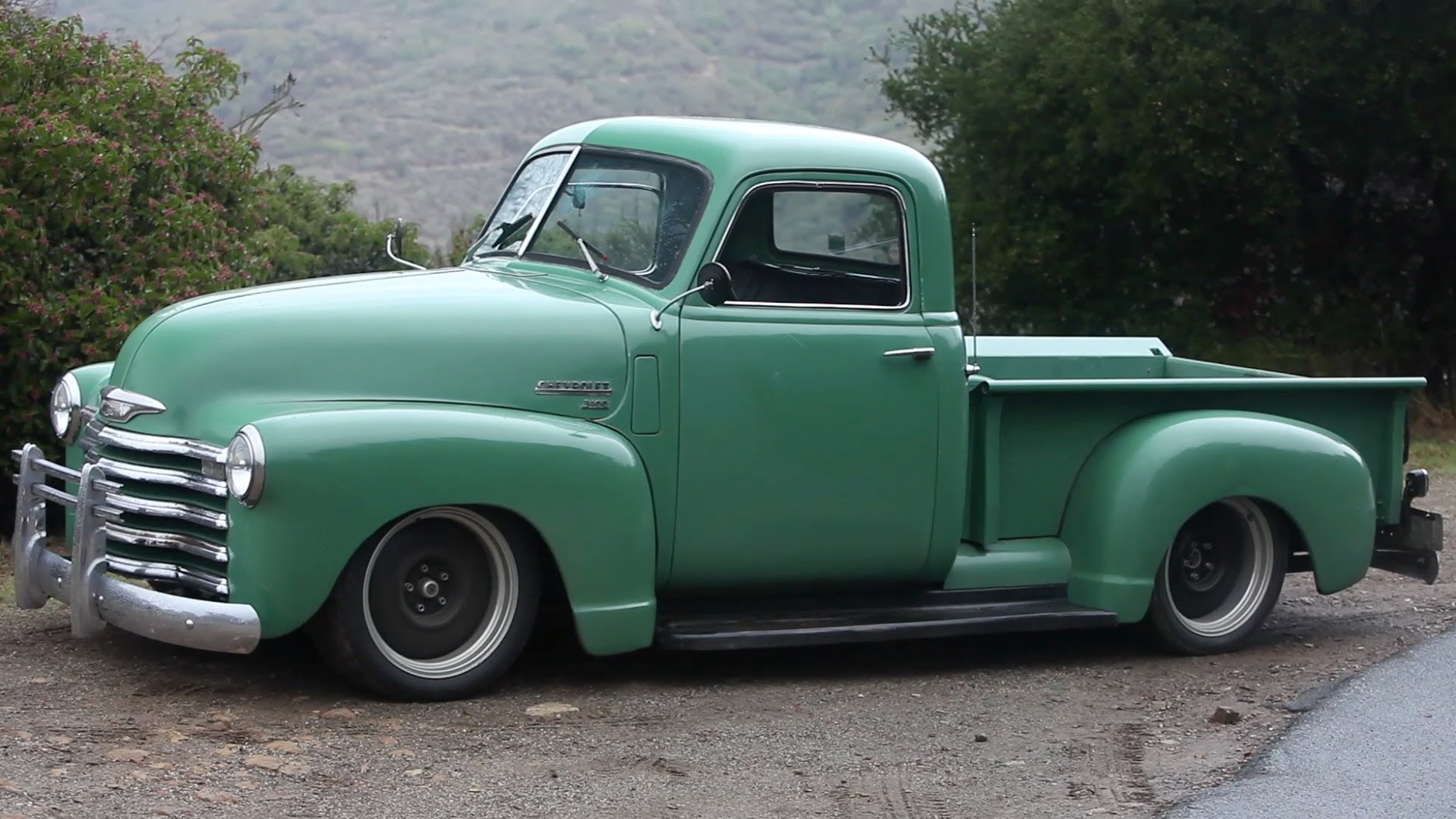 Check Out This Striking 1950 Chevrolet Muscle Truck!