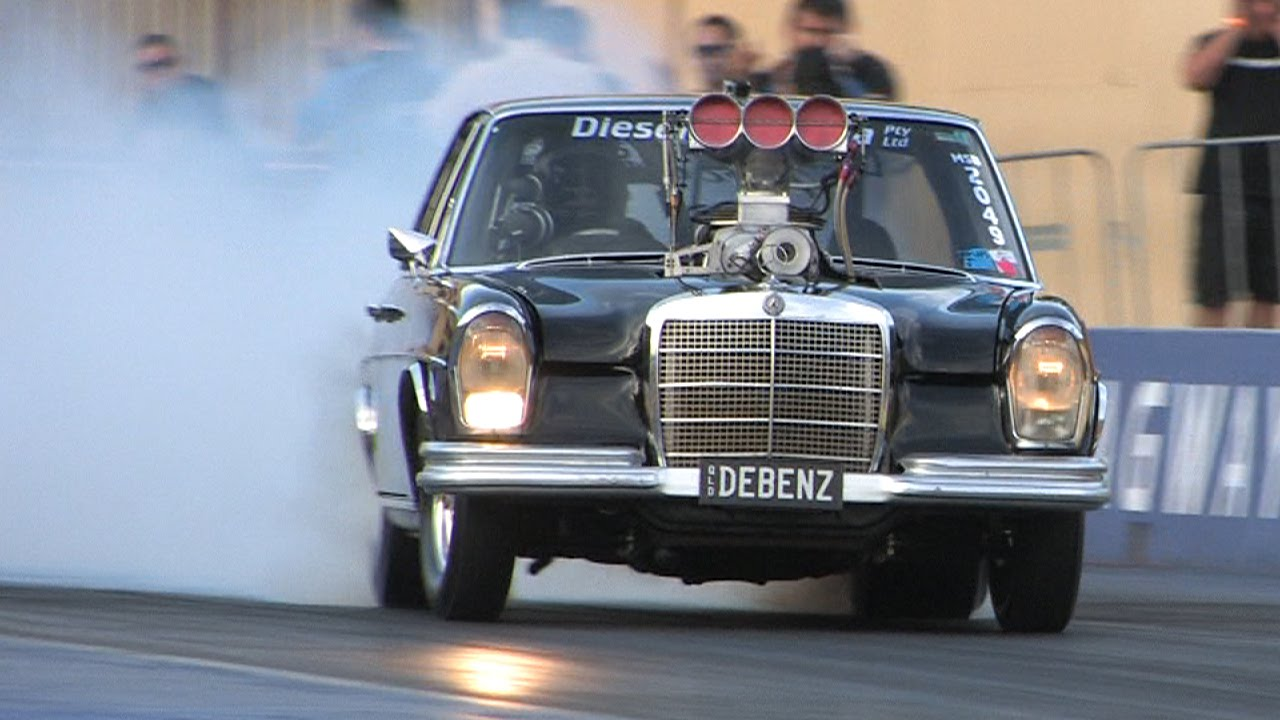 Hot Rod 1969 Mercedes 280S Is The Hottest Thing Down Under Since God ...