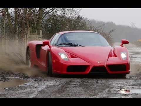 This Supercar, A Ferrari Enzo WRC, Is 12 Cylinders Of Scary y ...