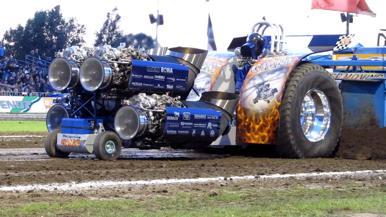 Quad Jet Engine Tractor Pulling Monster In The Finale