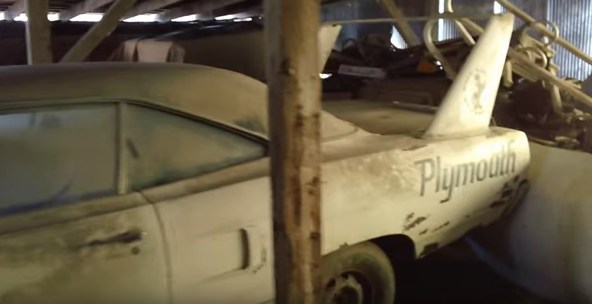 Epic Barn Find In The Midwest