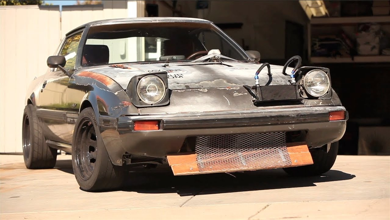 Charming Teenager Builds Amazing Yet Ugly RX7 Sports Car In Parentsu0027 Driveway. U  WILL LUV IT!
