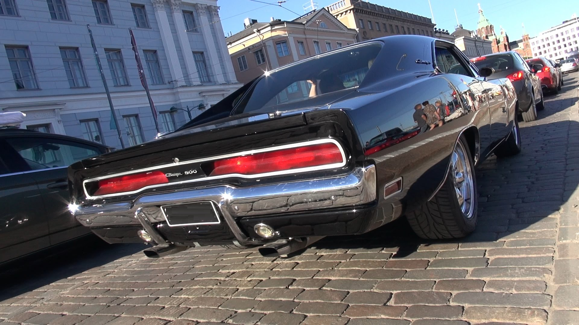 The Gathering Of The Best Muscle Cars In Helsinki Cruising Night Is ...