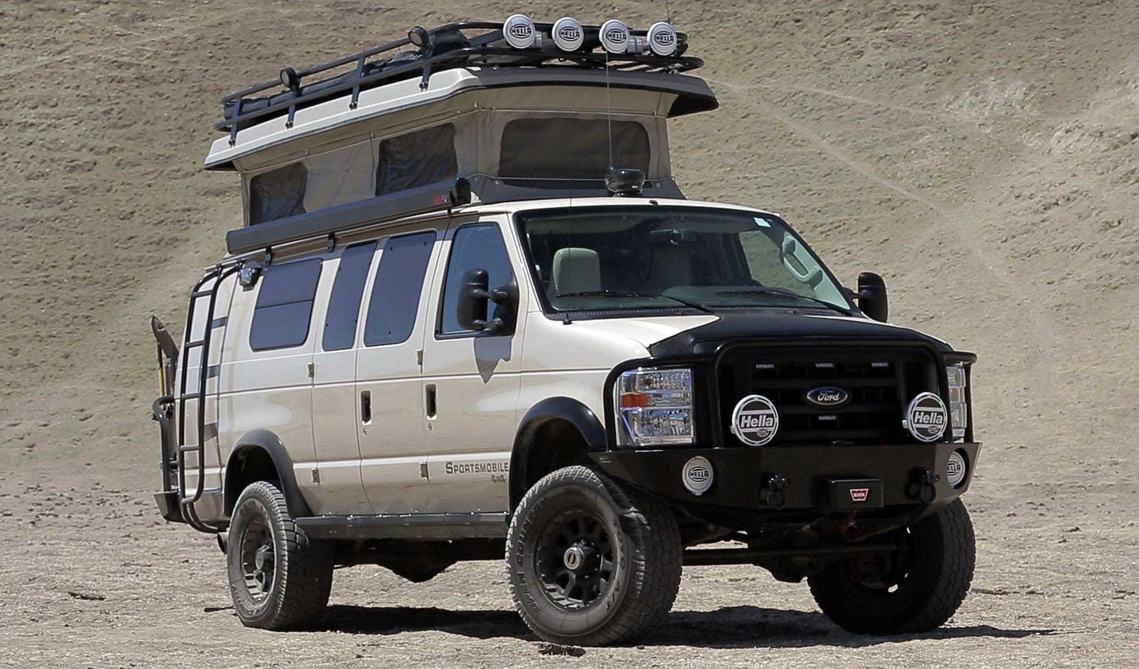 4×4 Off Road >> The Sportsmobile 4x4 Ford Van Is The RV Motorhome For Off Roading