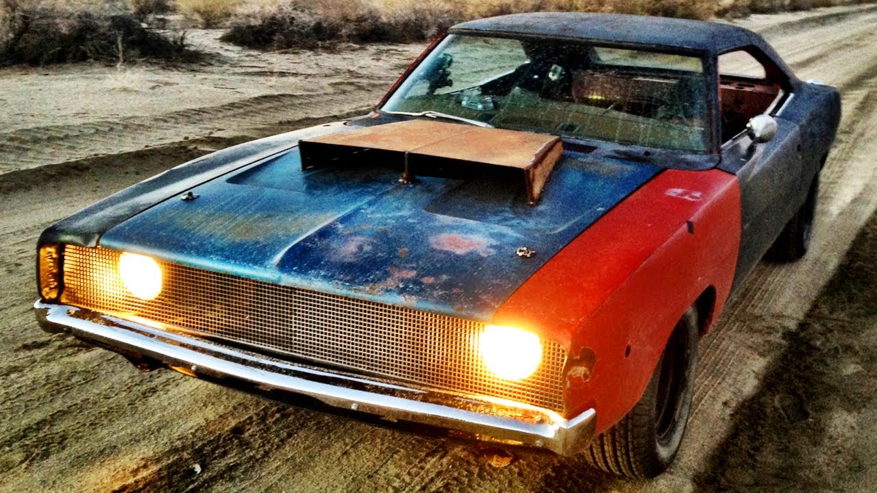 Amazing Junk Yard Find! 1968 Charger For A Rat Rod Project At Dirt ...