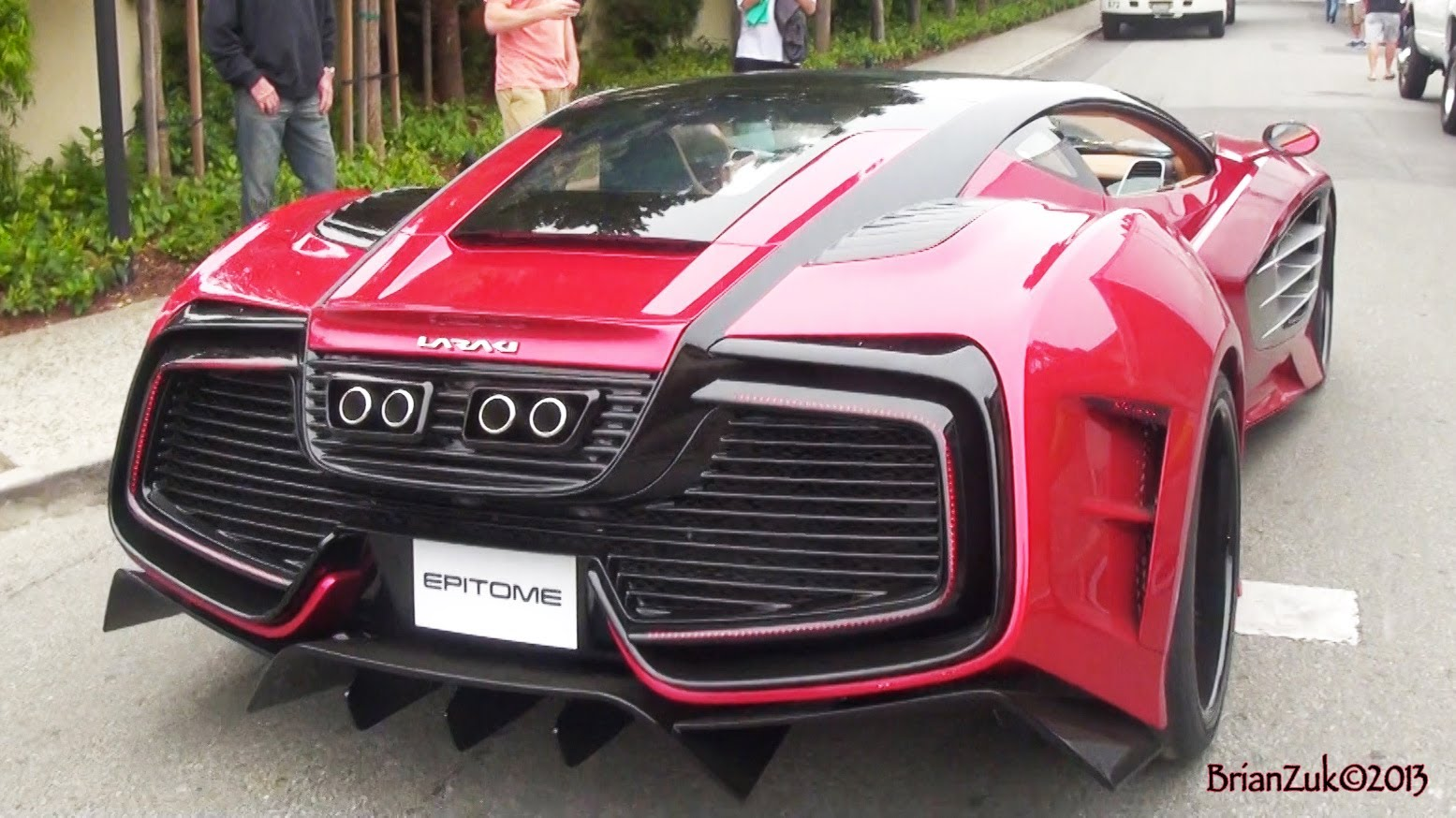 Intimidating 1200hp Laraki Epitome Roars Through The Pebble Beach Bmw I8 Concours D 8217 Elegance Edition Pictures Photo Gallery 2018