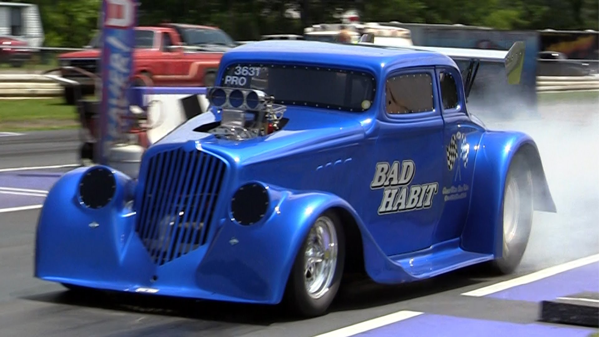 This Nostalgia Drag Racing At The Gasser Reunion Hot Rod Gasser ...