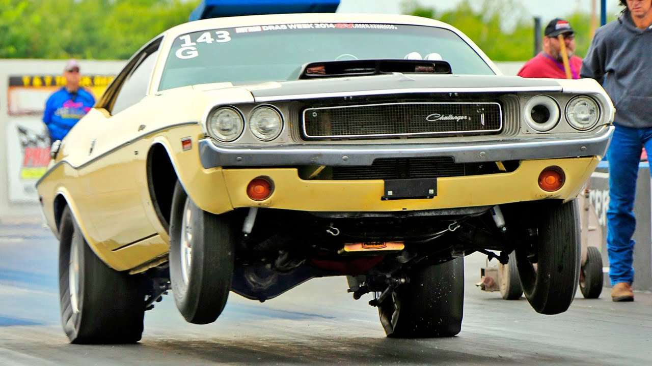 Wicked Drag Racing Launches, Speed, Crashes From 2015 Hot Rod Drag ...