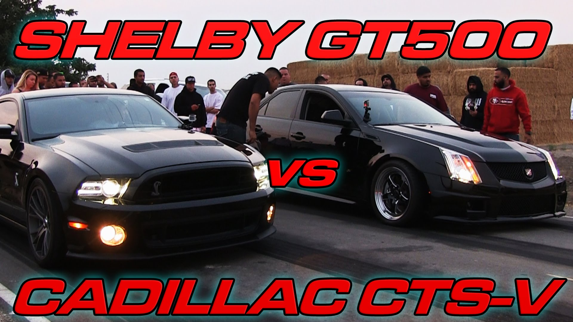 Cadillac CTS-V vs \'14 GT500! Which Car Is More Wicked?