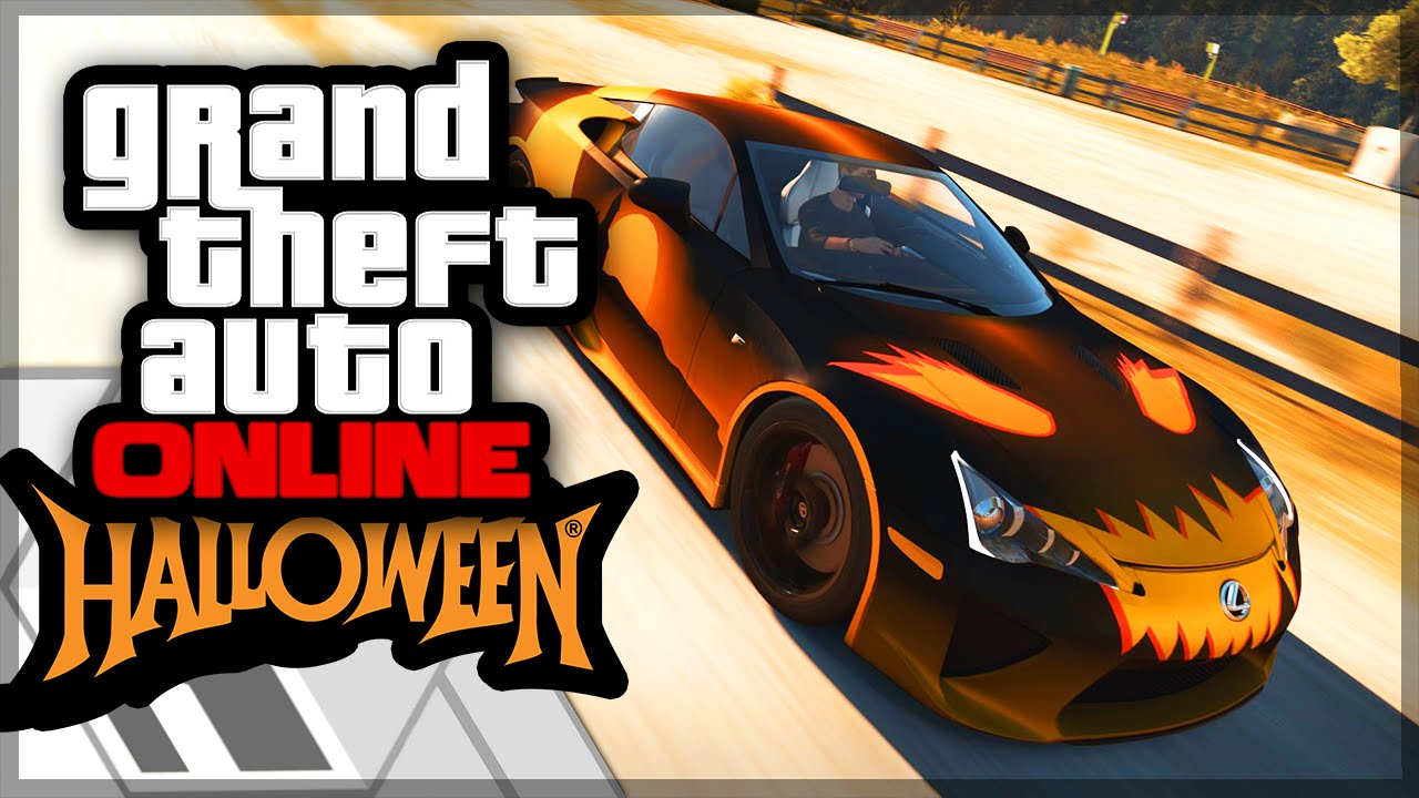 Check Out GTA S Newest Halloween Update Equipped With The - Cool cars gta
