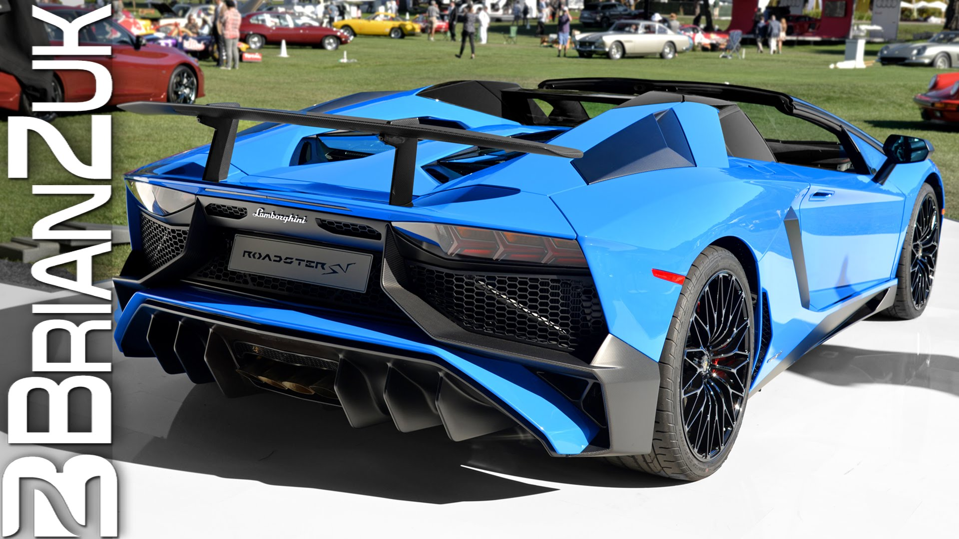 Check Out The All New Lamborghini Aventador Lp750 4 Sv Roadster