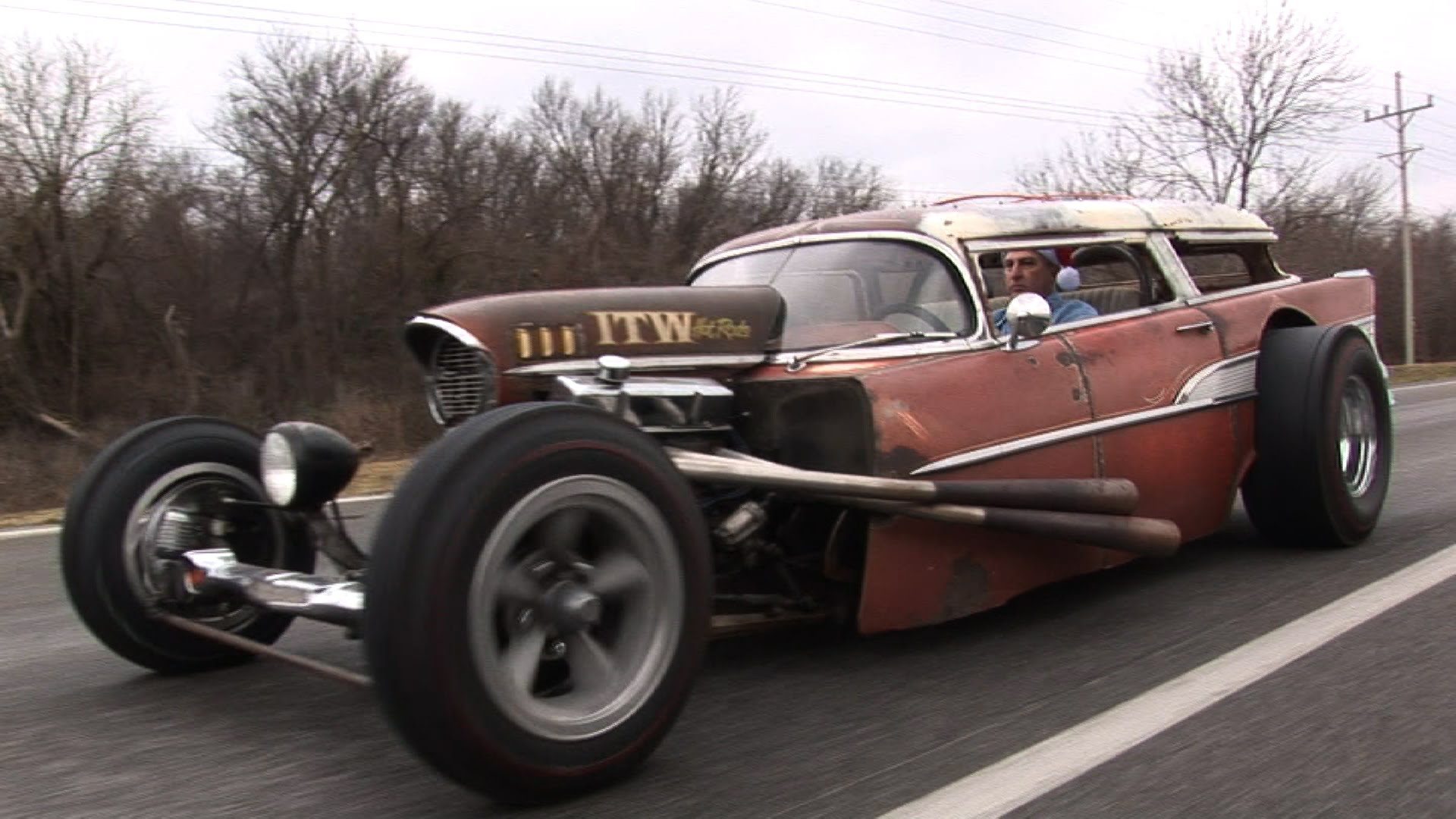 Rick Newberrys Crazy 1957 Chevy Wagon Rat Rod Will Drive You Insane Nomad With Lust And Envy