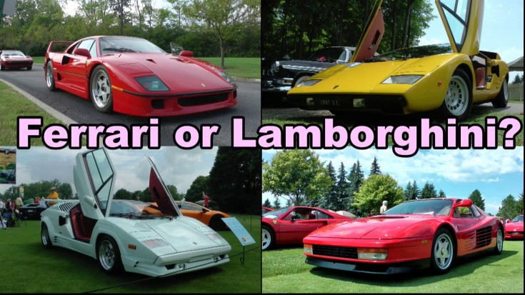 which is much better ferrari or lamborghini. Cars Review. Best American Auto & Cars Review