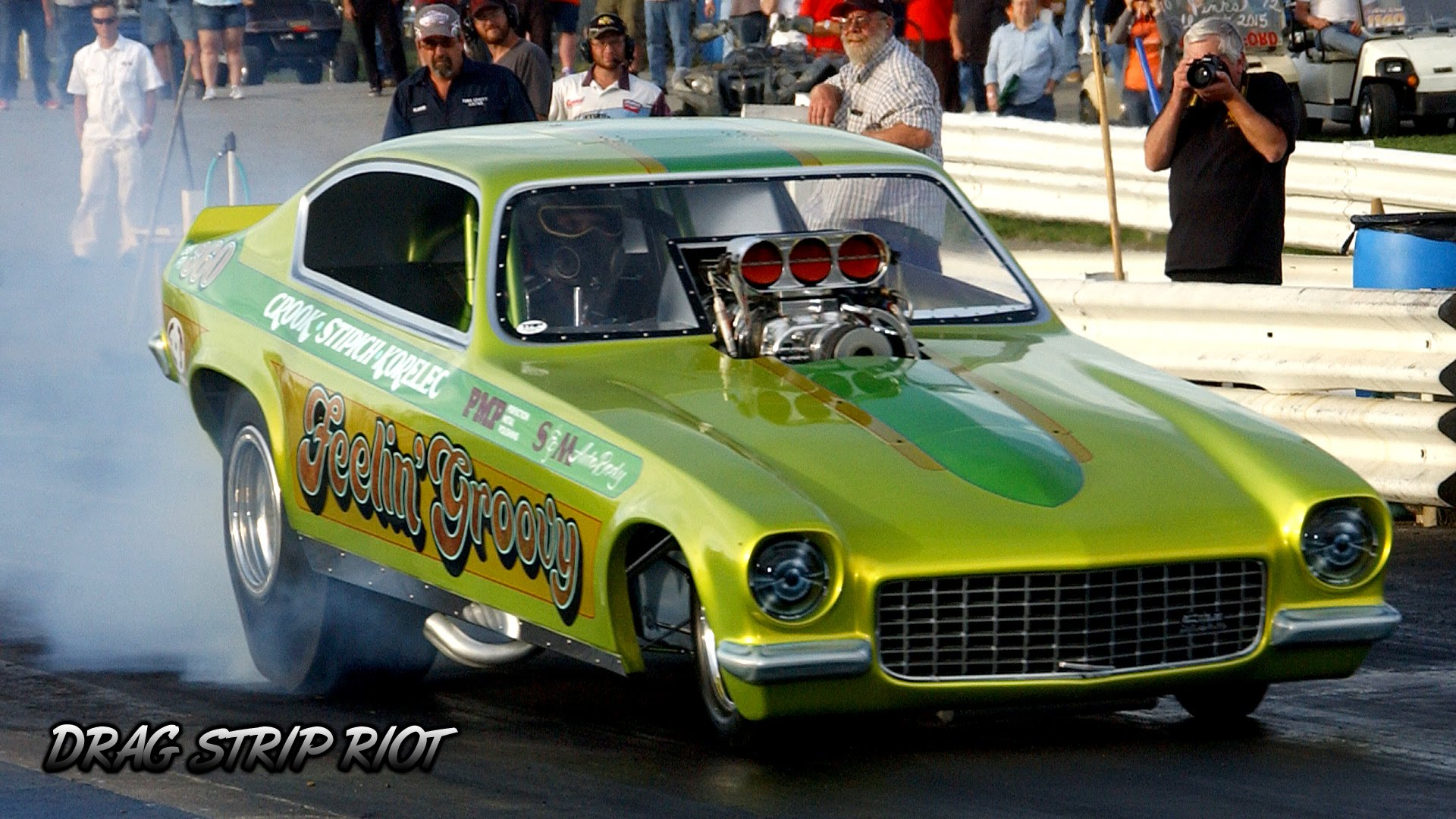 1972 Vega FC Faced The Drag Strip But It Disappointed A Bit