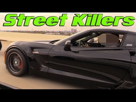 Killer Street Racing By Monster Muscle Cars And Sports Cars - Sports cars horsepower