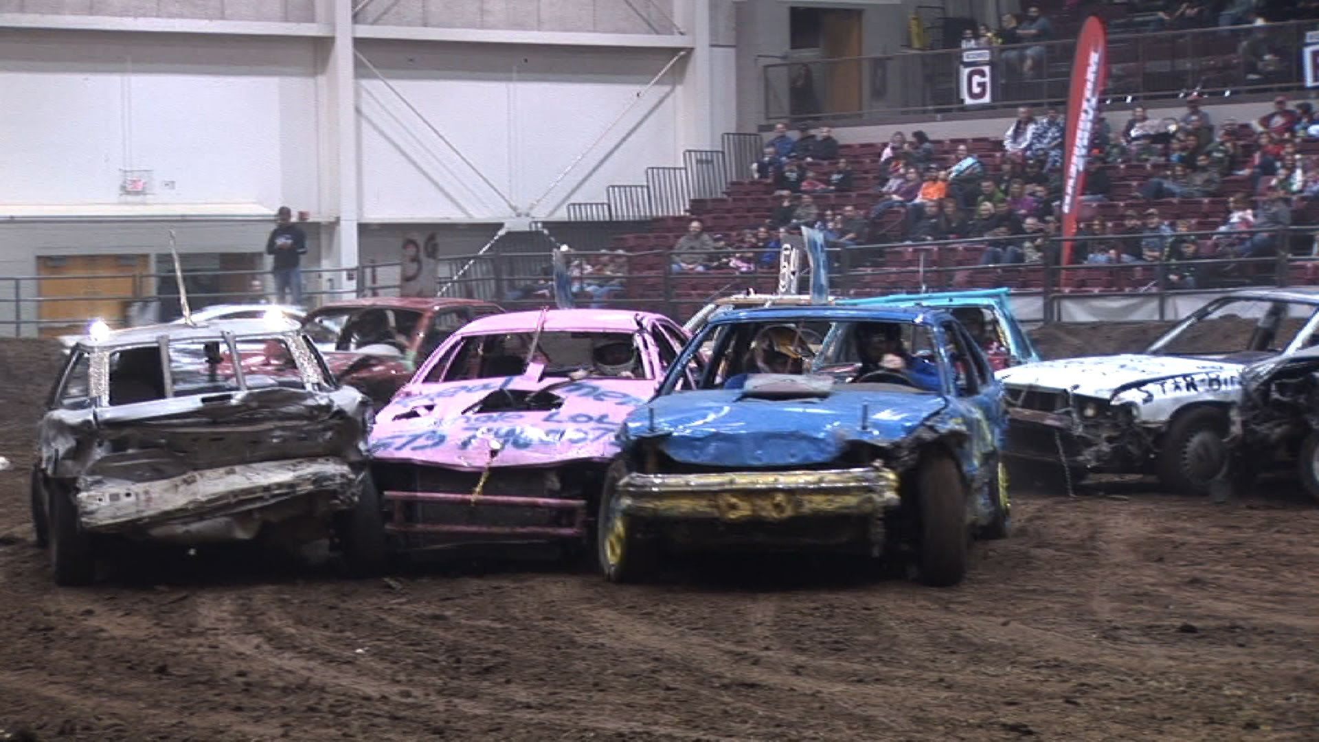 Check Out The Awesome Mullet-Car Trash Battle From The Latest ...