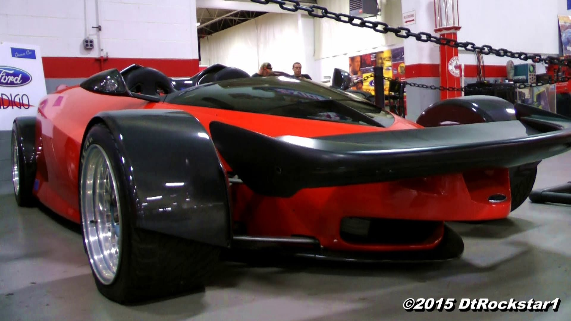 Very Rare Ford Indigo Concept Car Spotted! Insanely Cool!