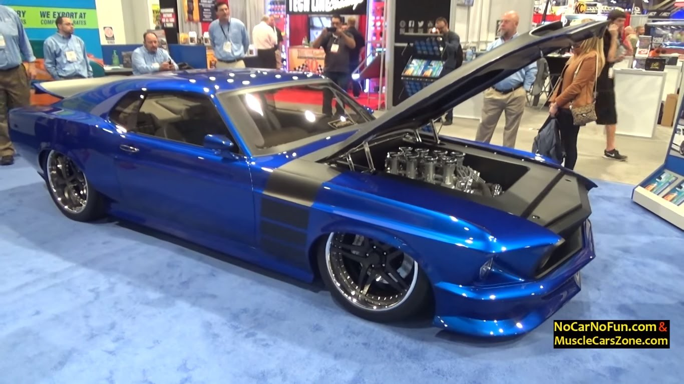Wonderfully Restored 1969 Ford Mustang Boss 302 Spotted At Sema 2015