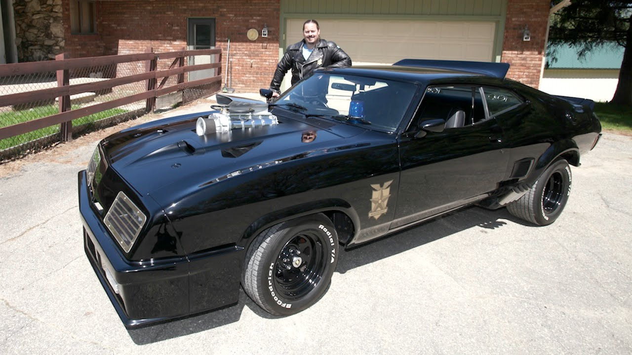 World\'s Biggest Mad Max Fan Builds His Own Mad Max Interceptor, The ...