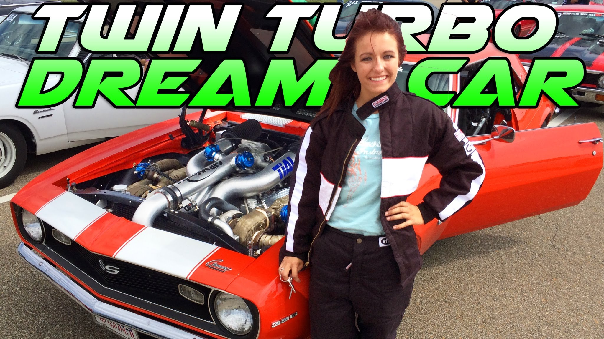 17-Year-Old Drag Racing Phenom Shows Off Her 1300 HP Camaro