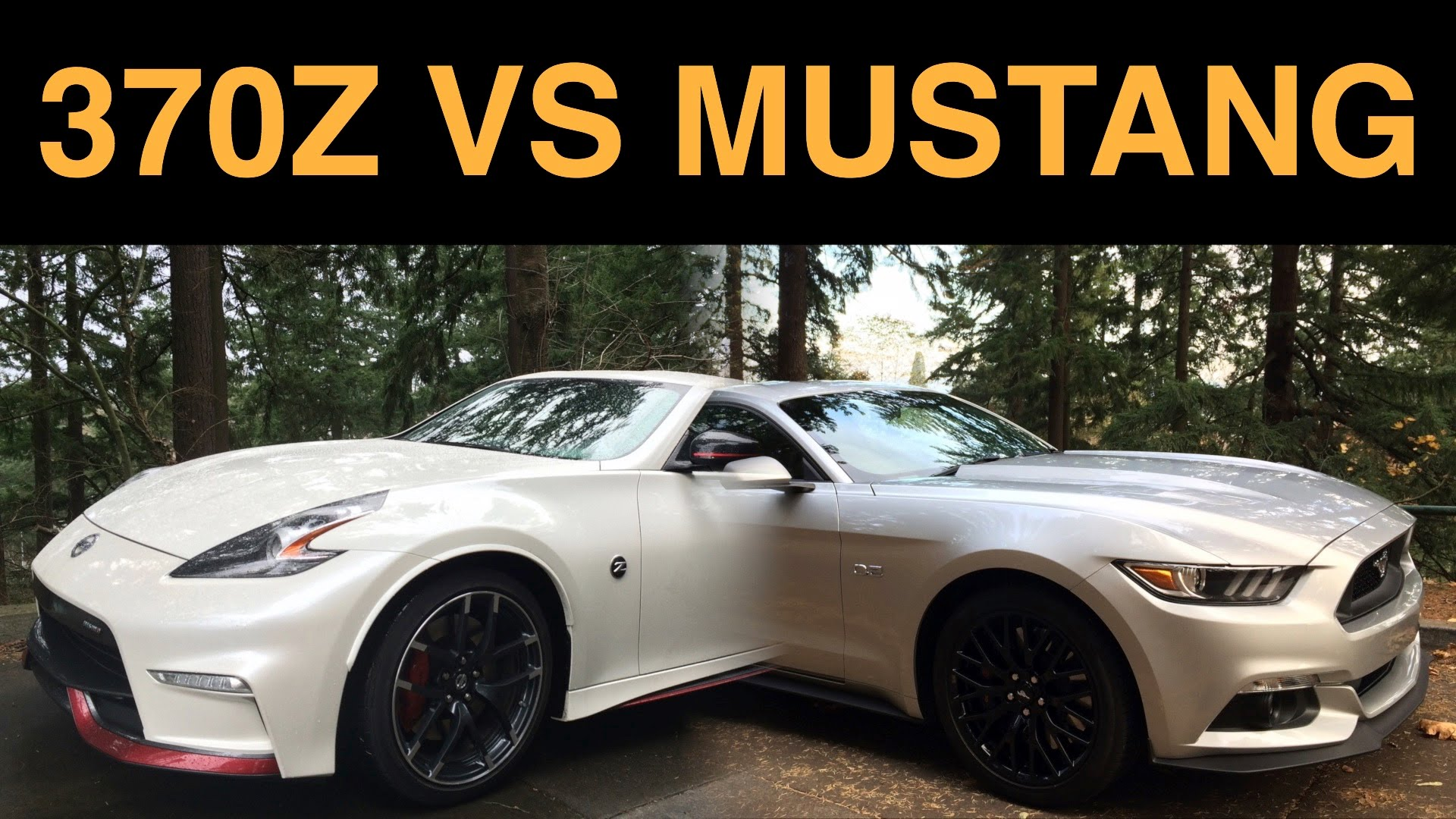Ford Mustang Gt Vs Nissan 370z Nismo Are Both Awesome Yet Have Six