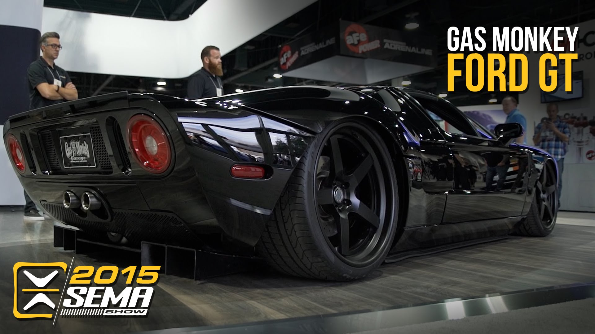 Gas Monkey Garage Turned Heads At Sema  With Their Gorgeous Fully Customized Ford Gt With Air Suspension