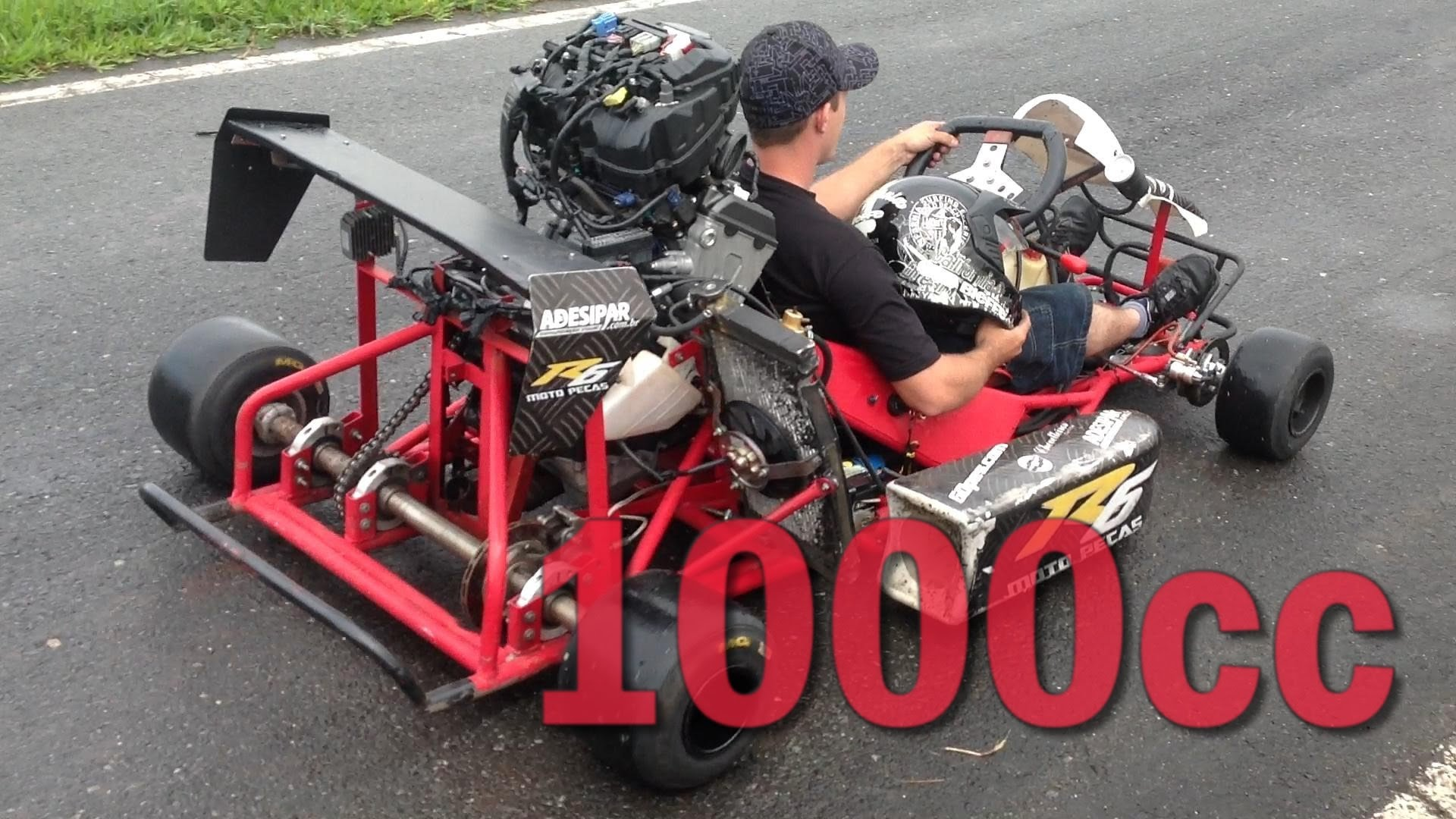 Get Amazed By This EPIC Self Modified 1000cc Go Kart!