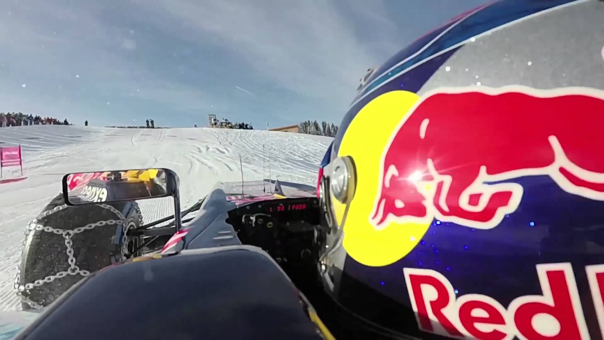 Red Bull Released A Formula 1 Car On Ski Slope And Pushed The Boundaries Of Fun