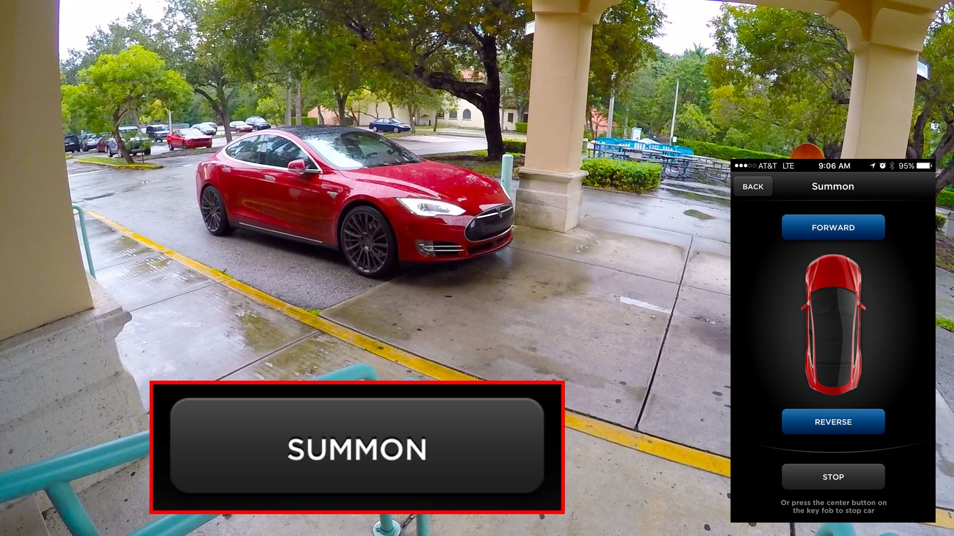 Tesla Model S Can Come To Pick You Up Like It Is A Freaking