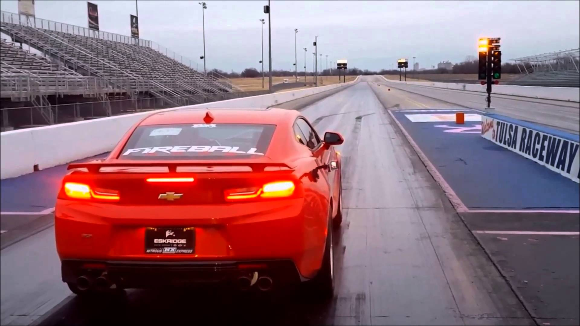 This Is The First 2016 Chevy Camaro To Enter The 9 Second