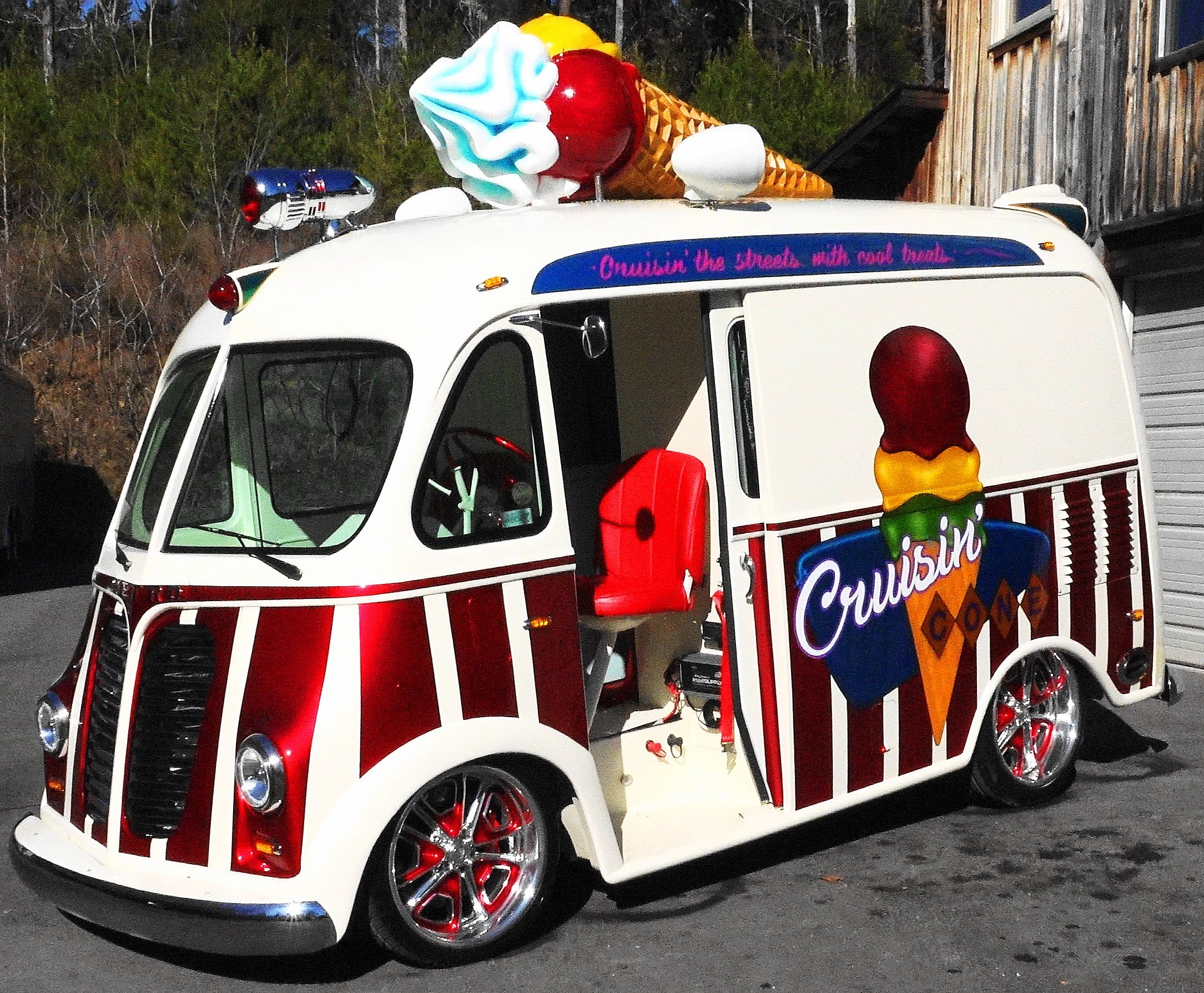 This Might Be The Coolest Hot Rod Ice Cream Truck To Have Ever Hit ...