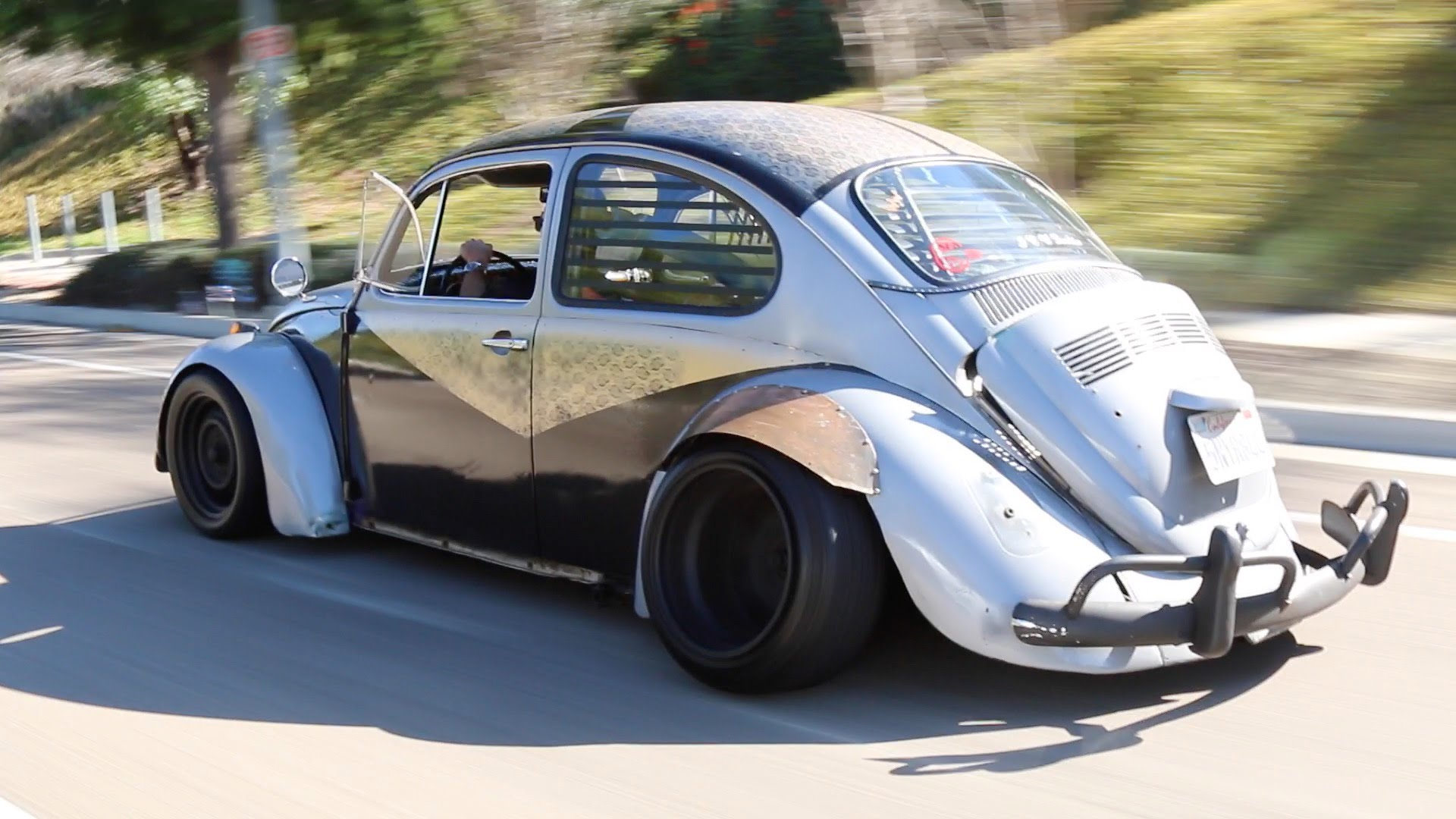 1968 vw beetle rat bug is the coolest lil rat rod you will ever see