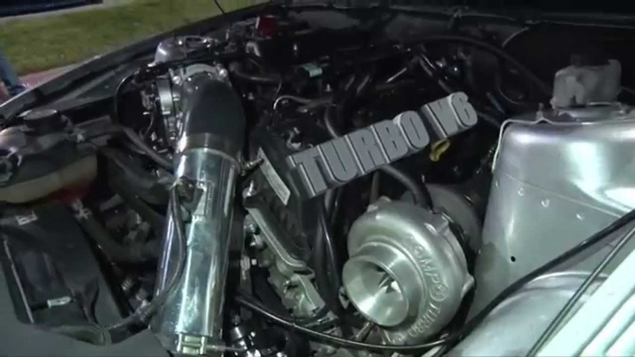 Hear The Sound Of This V6 Turbocharged Mustang