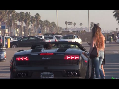See What Having A Nice Car Can Really Do For Your Lady Game In - Really nice sports cars