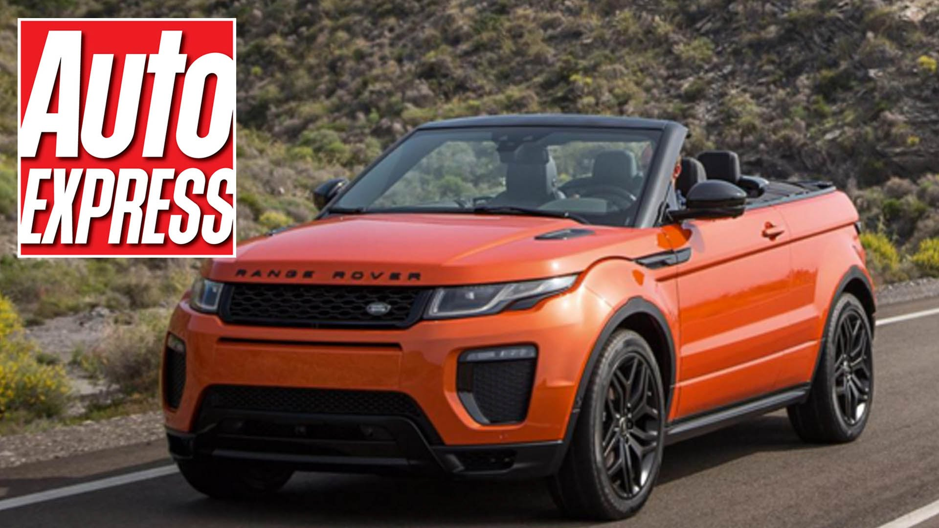 The Brand New Range Rover Evoque Convertible Is Turning Heads And Wowing Everyone