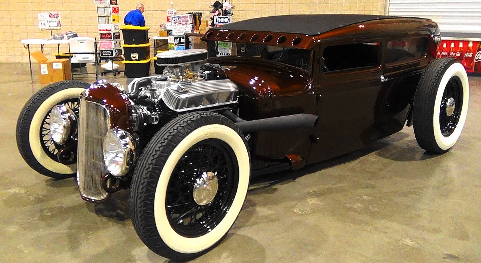 This 1930 Ford Model A Sedan Hot Rod Is One Fine Looking Throwback ...