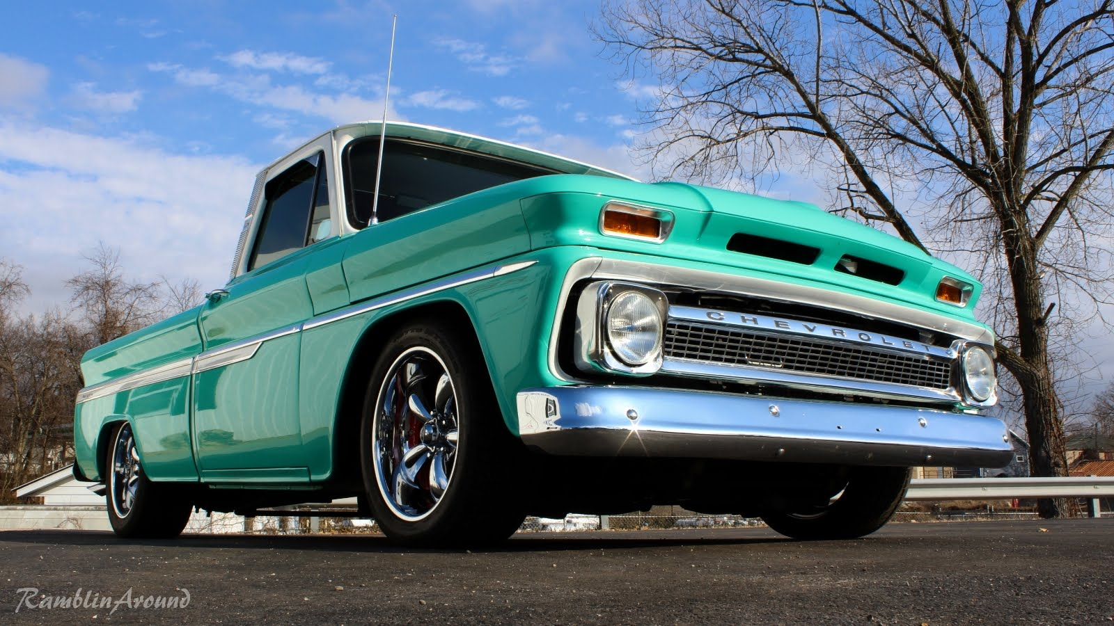 This Classic 1964 Chevrolet C10 Pickup LS3 V8 Is A Glorious Mashup ...