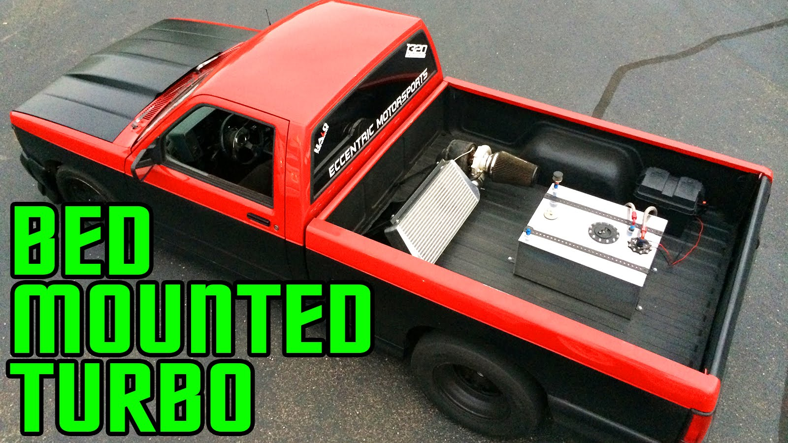 This GMC Sonoma GT Unconventionally Hauls With A Bed-Mounted Turbo