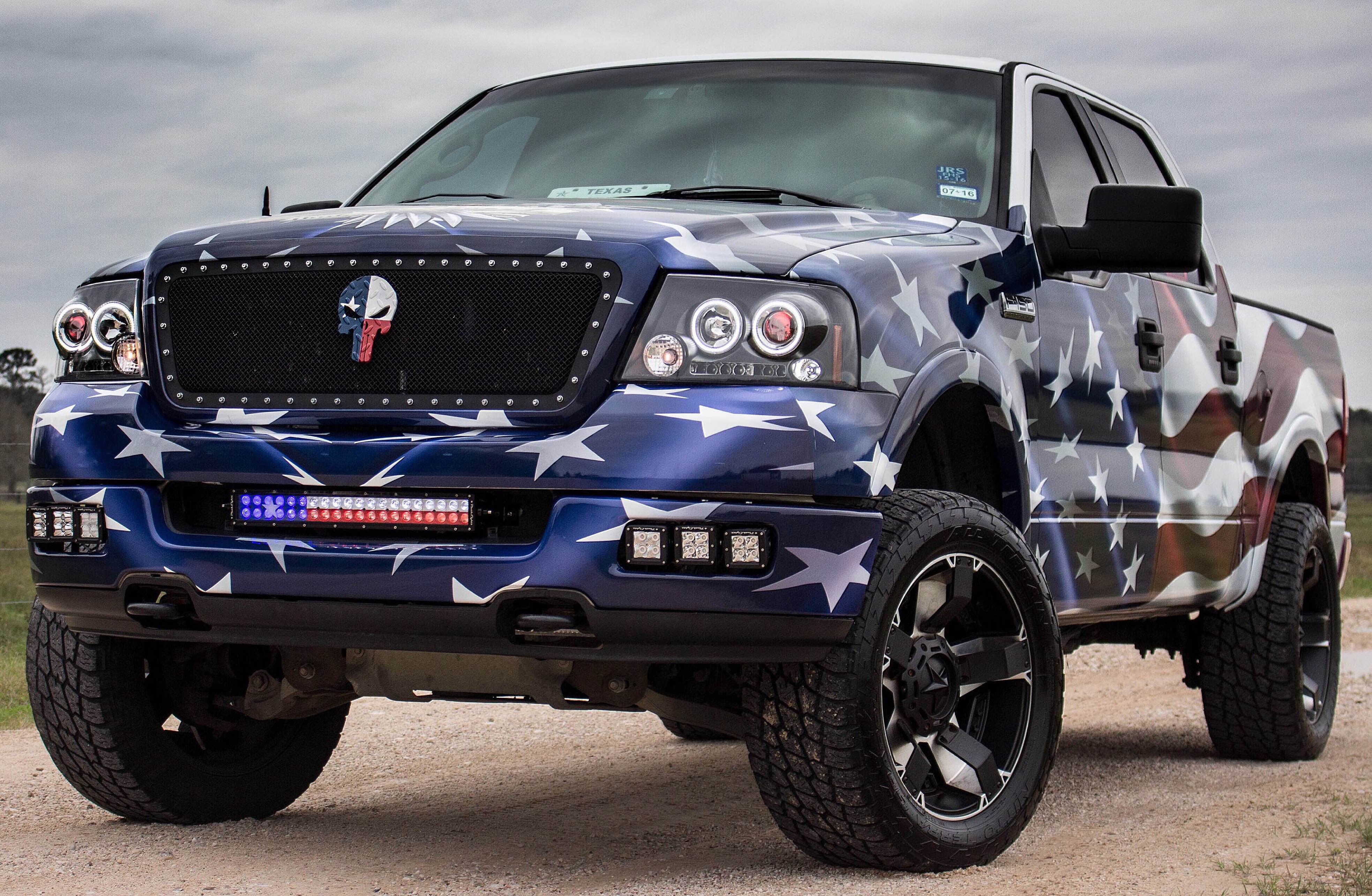 Texas Teen Builds The Ultimate Custom Ford F 150 To Raise